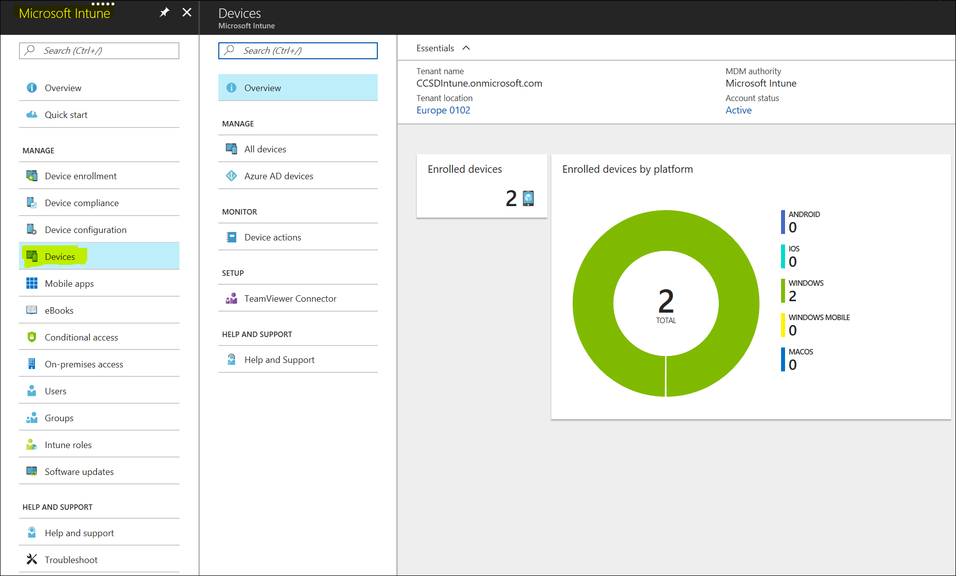 An interesting use-case for Intune and SCCM Co-Management